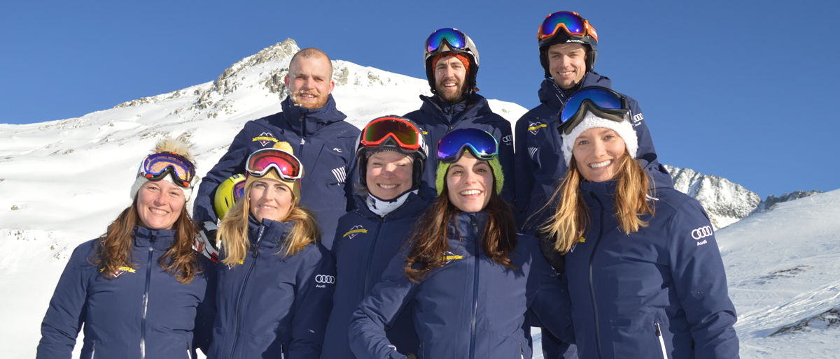 Andermatt Ski Instructor Team photo
